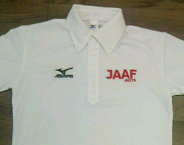 新型「JAAF AKITA」ポロシャツ